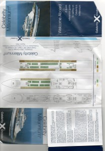 Celebrity Millennium Deck Plans Front